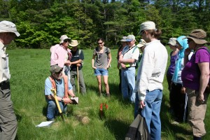 2012 Naturalists in the field.