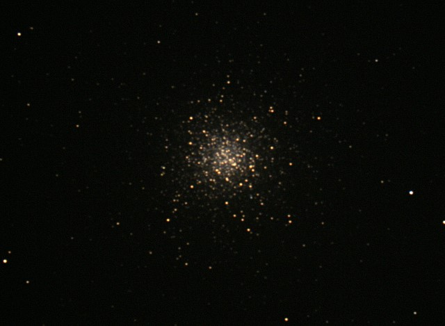 The Hercules Globular Star Cluster, photo taken by Bridger Keleher at the Horizons Observatory.