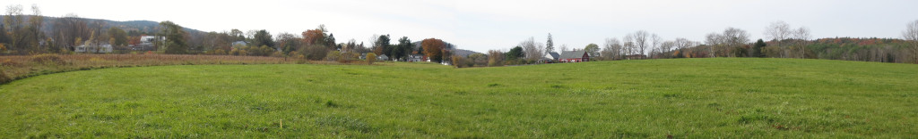 In 2001, UVLT became the first NGO in the country to receive direct USDA funding for farmland conservation. We bought a conservation easement on these fields in Lyme.