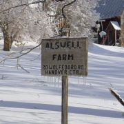 Chamberlain Alswell farm sign