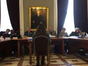 Laura Stillson Testifying