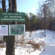 Ely Mountain Trail Sign